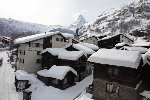 Chalet Mazot Exterior, Zermatt