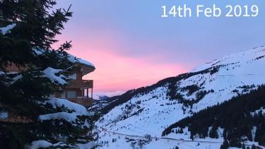 ski conditions in Meribel