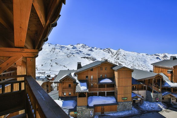 View, Chalet Milo, Val Thorens, France