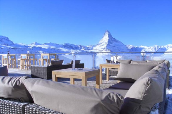 Mountain Restaurant Blue Lounge, Zermatt, Switzerland