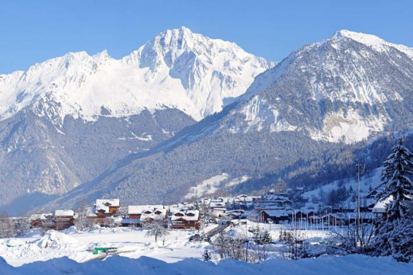 Mountain View, Courchevel, France; David Andre