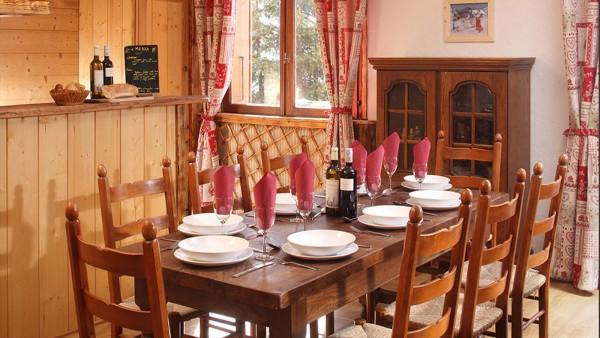 Dining area - Chalet Naomi, Alpe D'Huez, France
