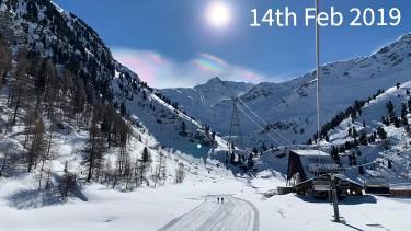 ski conditions in Nendaz