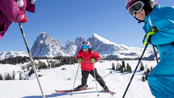 Ortisei Val Gardena - Younge Skiers