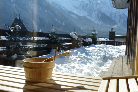 Spa in Park Hotel Suisse & Spa - Hotel in Chamonix, France