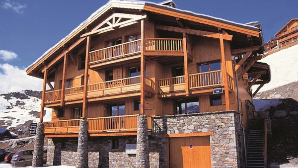 Chalet Peclet exterior, Val Thorens