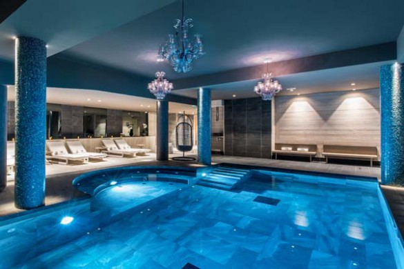 Swimming Pool, Residence Chalet Skadi - Ski Apartments in Val d'Isere, France