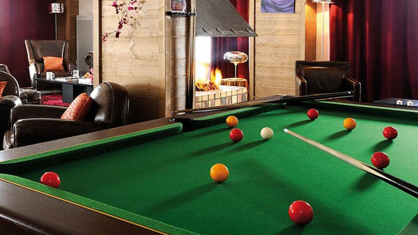 Pool Table at Residence Les Chalets Edelweiss, La Plagne