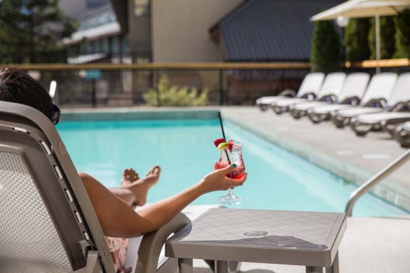 Crystal Lodge, Whistler, Outdoor Pool