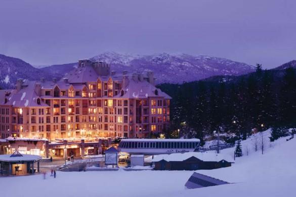 Hotel Pan Pacific Mountainside, exterior, Whistler