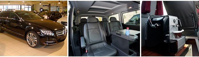 Private Transfers - representative vehicles shown