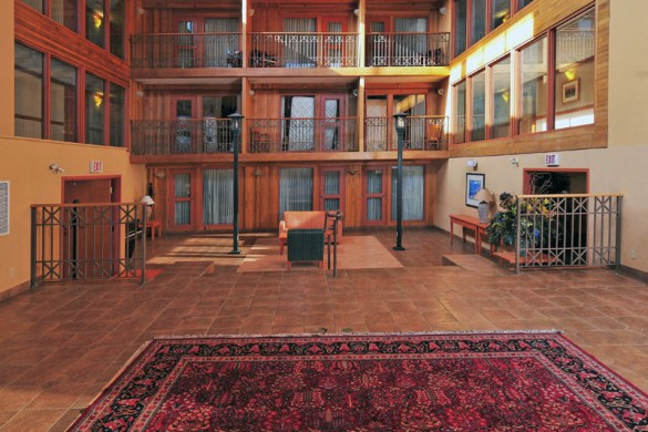 Ptarmigan Inn, lobby, Banff & Lake Louise