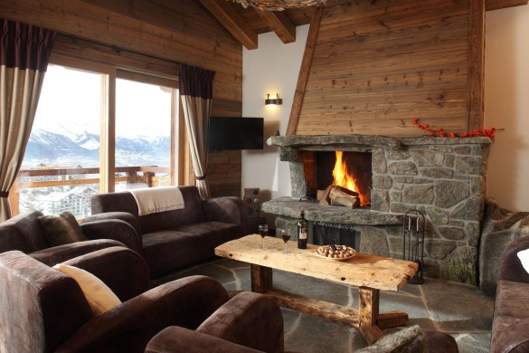 Quatre Vallees, Nendaz - living room