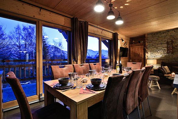 Chalet Rebeque - Ski Chalet in Alpe d'Huez, France