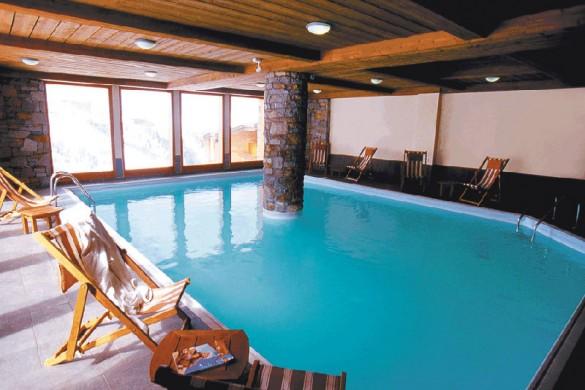 Residence Aspen pool, La Plagne
