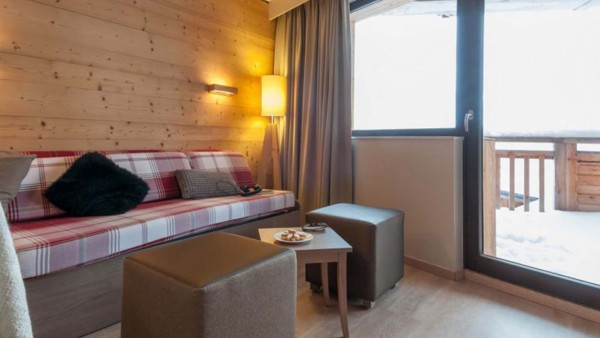 Apartment Interior, Residence Atria Crozats, Avoriaz, France