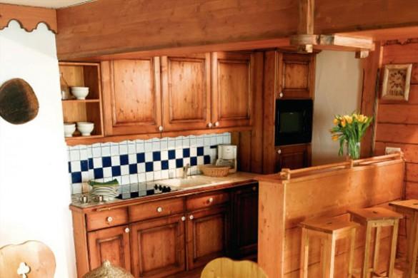 Residence L'Ecrin des Neiges kitchen, Tignes
