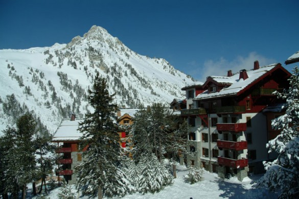 Residence Le Village 1950 ext view, Les Arcs