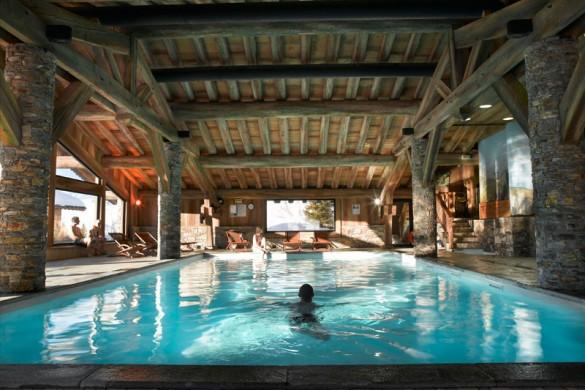 Residence Les Alpages de Chantel pool, Les Arcs