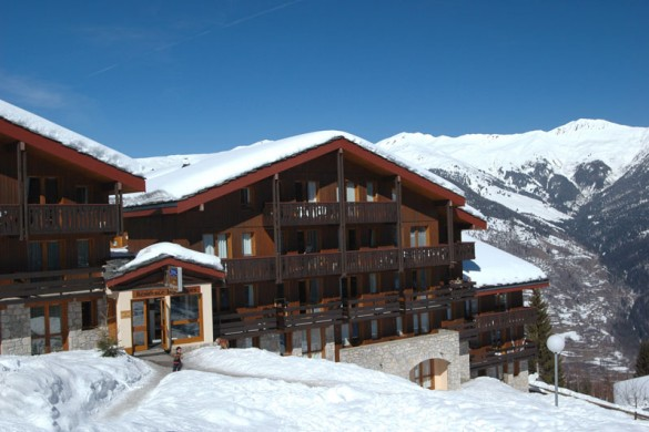 Residence Les Brigues ext, Courchevel