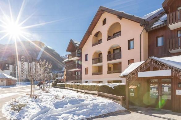 Residence Les Chalets du Solaise entrance, Val D'Isere