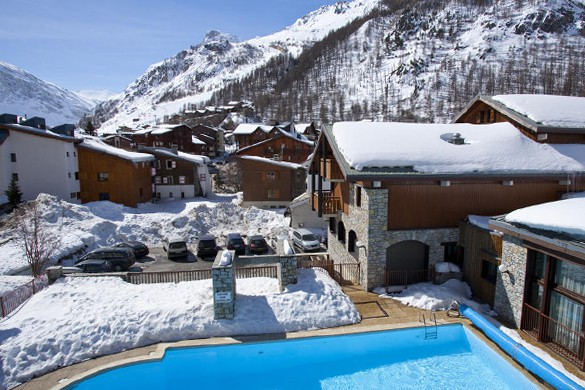 Residence Les Chalets du Solaise pool, Val D'Isere