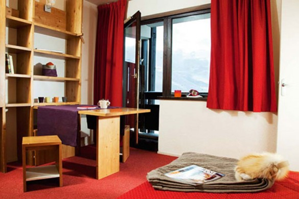 Residence Les Olympiades lounge, Val Thorens