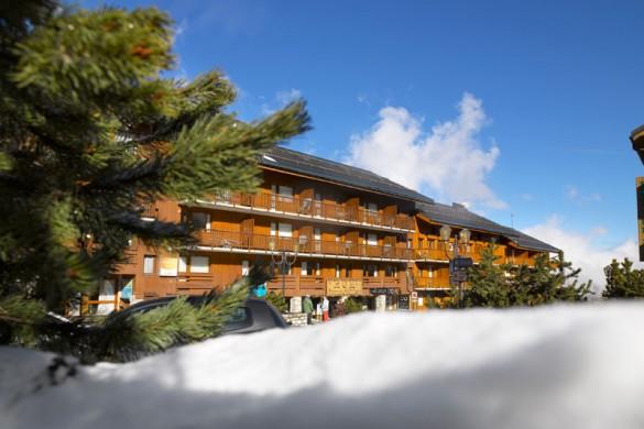 Exterior of les Ravines - ski apartment in Meribel, France