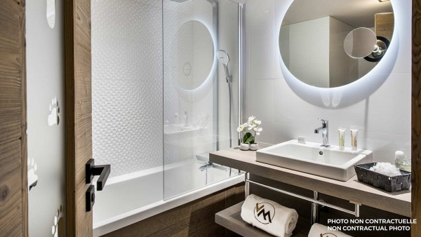Residence Chalet Izia, Val disere - Bathroom (example)