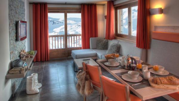 Residence Plein Sud, Val Thorens -Dining