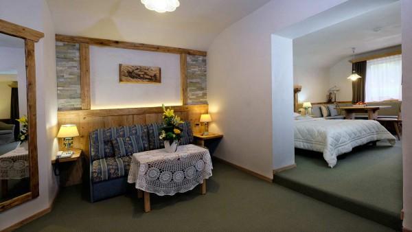 Rooms - Hotel Evaldo, Arabba