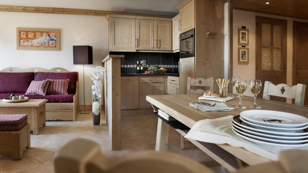 Rooms in in CGH Les Chalets de Jouvence 2