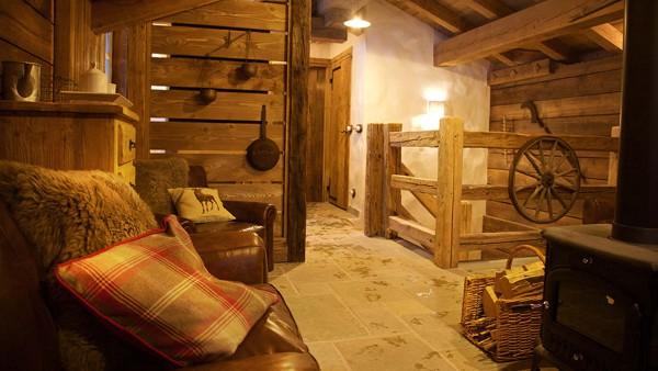Living Room Chalet Samuel - Ski chalet in Courchevel, France