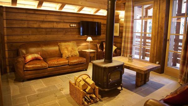 Living Area, Chalet Samuel, Courchevel, France
