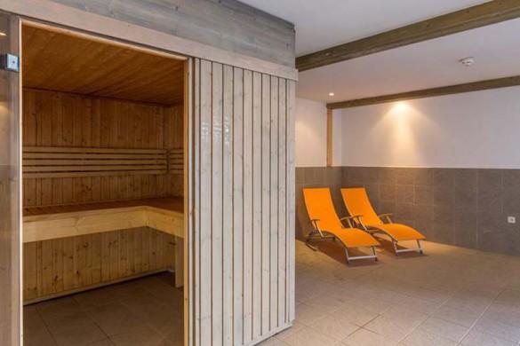 Sauna, Residence Le Sun Valley - Self-Catered Ski Apartments in La Plagne, France