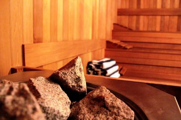 Crystal Lodge, Whistler, Sauna