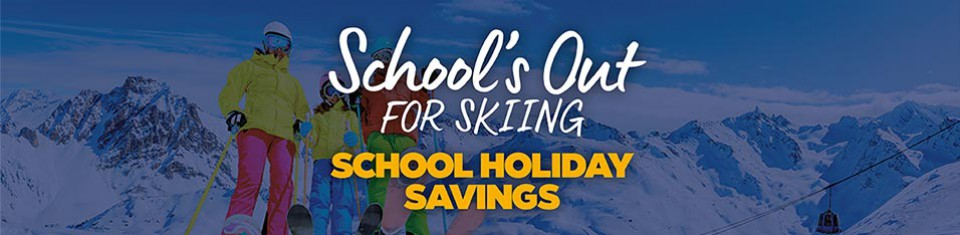 Schools out for skiing
