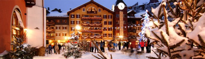 Christmas ski holiday 2015 in resort
