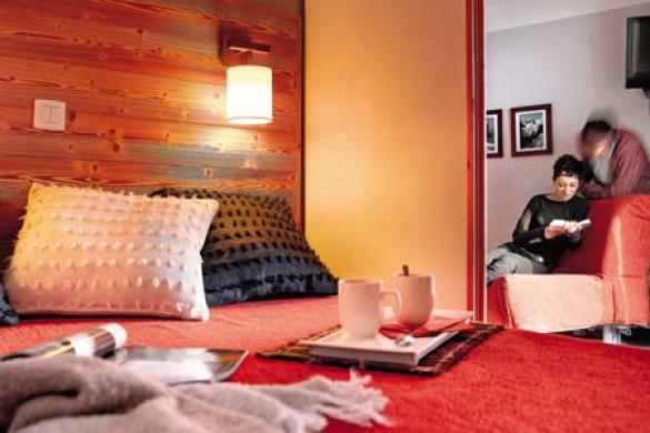Bedroom in Sentiers du Tueda - apartment in Meribel, France