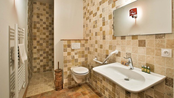 Bathroom, Chalet Silene, La Plagne, France