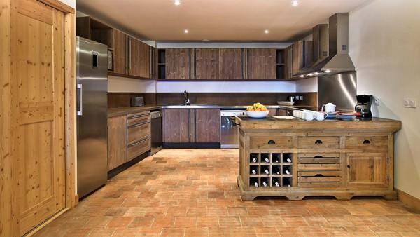 Kitchen Area, Chalet Silene, La Plagne, France