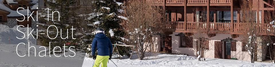 ski-in-ski-out chalets