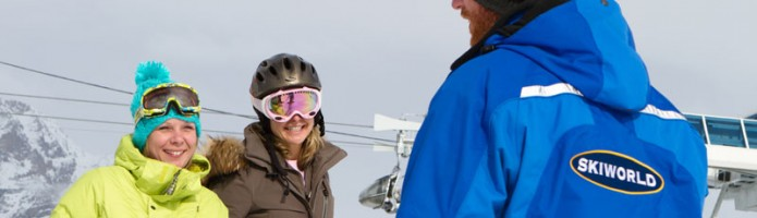 ski lessons with Skiworld
