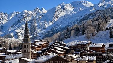 La Clusaz ski resort france