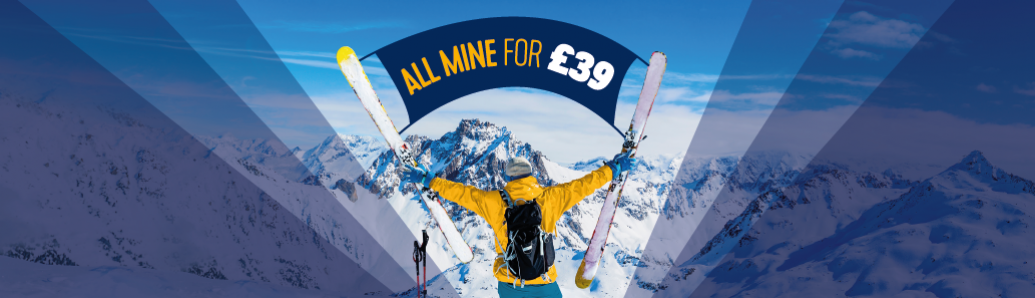 Lift Pass & Ski Hire for £39