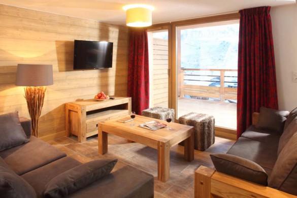 Lounge area Chalet Annina, Tignes