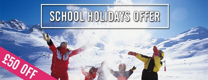 £50 Off School Holidays