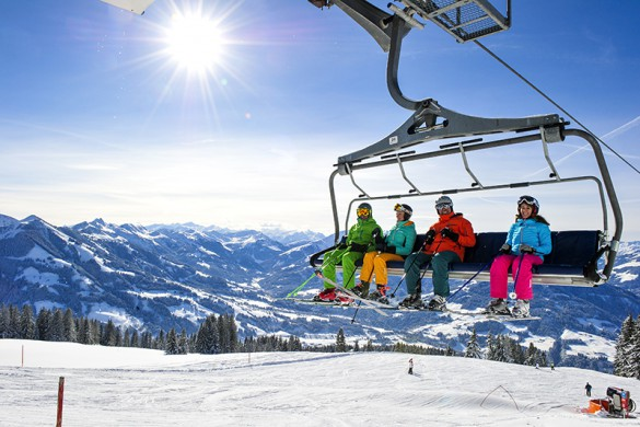 Soll ski resort austria