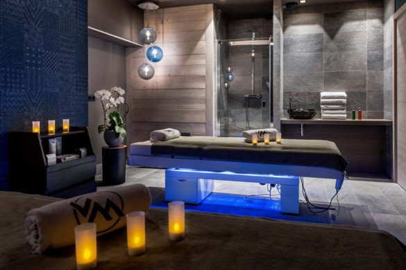 Spa, Residence Chalet Skadi - Ski Apartments in Val d'Isere, France