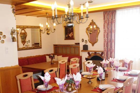 Chalet Hans, St Anton, Austria, Dining Room